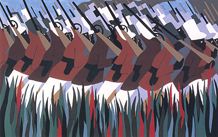 DC Moore Gallery Presents The Life of Toussaint L'Ouverture by Jacob Lawrence