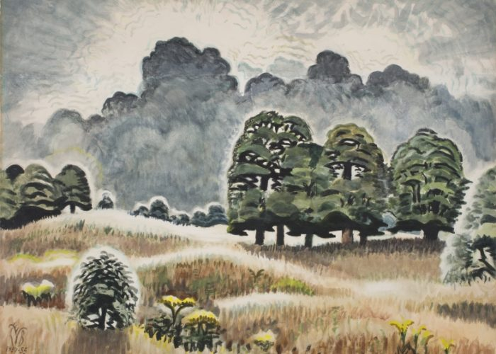 DC Moore Gallery Presents Forgotten Nature at The Armory Show featuring Charles Burchfield, Ralph Eugene Meatyard, Carrie Moyer, Claire Sherman