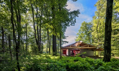 Bohlin Cywinski Jackson Designs High Meadow Dwellings at Fallingwater