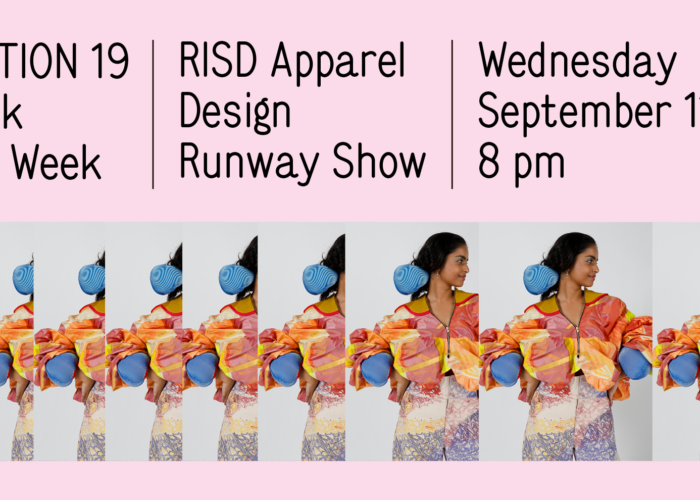 Rhode Island School of Design Presents Collection 19 at New York Fashion Week