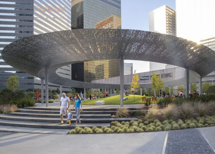 SWA Group Designs Pacific Plaza Park in Downtown Dallas