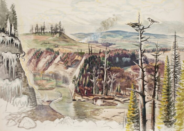 DC Moore Gallery Presents Charles Burchfield: Solitude