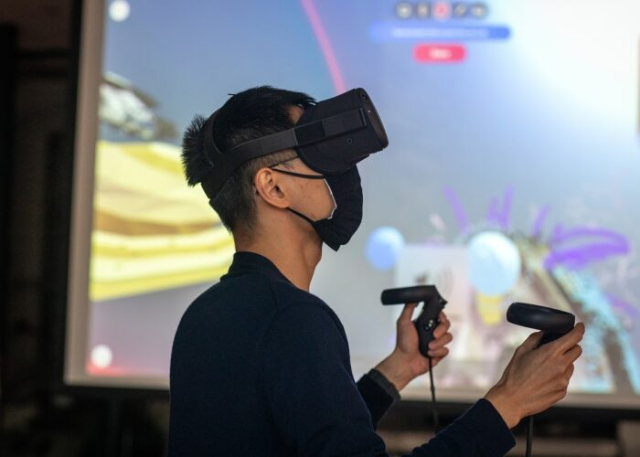 RISD Participates in Microsoft Virtual Reality Study Aimed at Developing an Immersive Classroom Environment That Meets the Needs of Artists and Designers