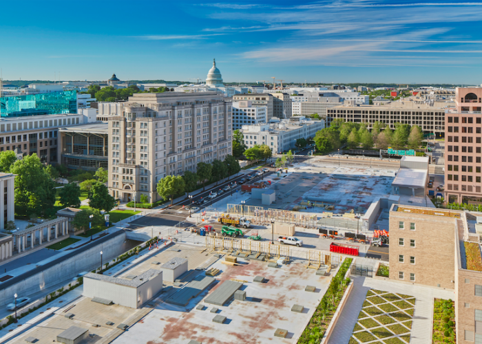 BEYER BLINDER BELLE COMPLETES MULTI-PHASE RESTORATION OF TWO CULTURAL LANDMARKS AS PART OF CAPITOL CROSSING PROJECT IN WASHINGTON, D.C.