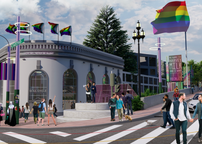 SWA GROUP REVEALS FINAL DESIGN FOR 'MEMORIAL AT HARVEY MILK PLAZA' IN ADVANCE OF SAN FRANCISCO'S PRIDE WEEKEND